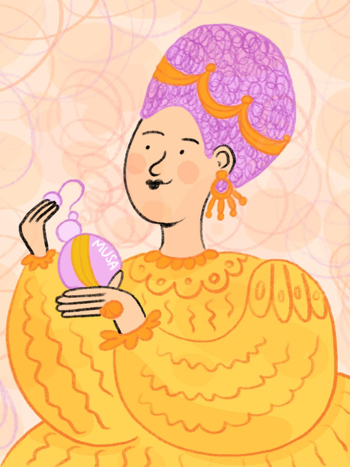 Illustrazione di Francesca Rizzato per MUSA